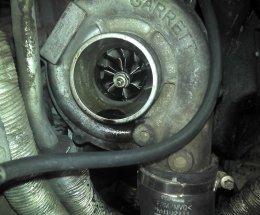 Передув турбіни в автомобілі