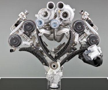 Турбина на бензиновый двигатель