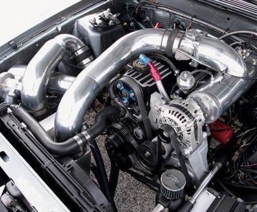 Увеличение мощности дизеля с помощью турбонаддува