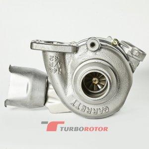Реставрированная турбина Peugeot 1007, 206, 207, 3008, 307, 308, 407, 5008, Partner